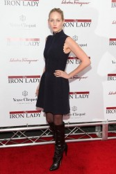 Leelee Sobieski, 'The Iron Lady' New York Premiere 13/11/2011