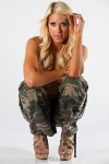 Барби Бланк (Келли Келли), фото 450. Barbie Blank (Kelly Kelly) Chad Martel Photoshoot 2012, foto 450