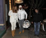Мэрайя Кэри, фото 6081. Mariah Carey December, 31 2011 Out & about in Aspen, foto 6081