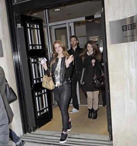 Lana Del Rey at BBC Studios in London 23rd January x10