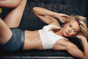 Maria Sharapova Belly Post *Nicole Scherzinger wins Poll*