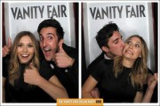 Elizabeth Olsen in a Photo Booth at 2012 Vanity Fair Oscar Party