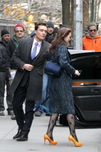 Лейгтон Мистер, фото 6889. Leighton Meester On the Set of 'Gossip Girl' in Manhattan - 05.03.2012, foto 6889