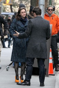 Лейгтон Мистер, фото 6885. Leighton Meester On the Set of 'Gossip Girl' in Manhattan - 05.03.2012, foto 6885