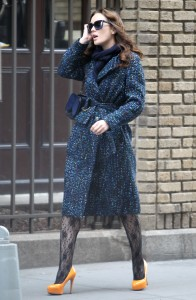 Лейгтон Мистер, фото 6845. Leighton Meester On the Set of 'Gossip Girl' in Manhattan - 05.03.2012, foto 6845