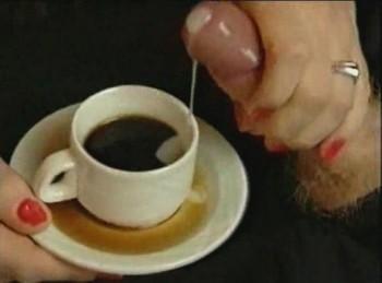 cum in coffee