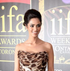 Mallika Sherawat - International Indian Film Academy (IIFA) Awards at Roger Centre in Toronto on June 25, 2011 - x2 HQ