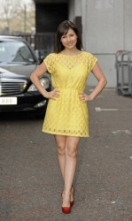 Roxanne Pallett at the ITV Studios in London 3rd April x8