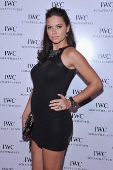 Adriana Lima - IWC Flagship Boutique New York City Grand Opening - 24/4/12 *PREGNANT*