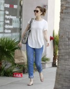 Mandy Moore - pokies while out and about in Santa Monica 05/25/12