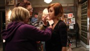 "Allison Scagliotti - Behind the Scenes on ""Warehouse 13"" S02E04 (x2)"