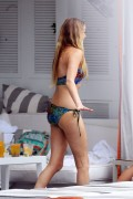 Whitney Port - wearing a bikini at a pool in Miami 06/22/12